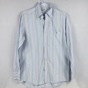 Lacoste long sleeve button up shirt sz 40